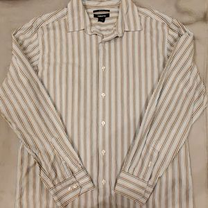 Claiborne long sleeve button down shirt.